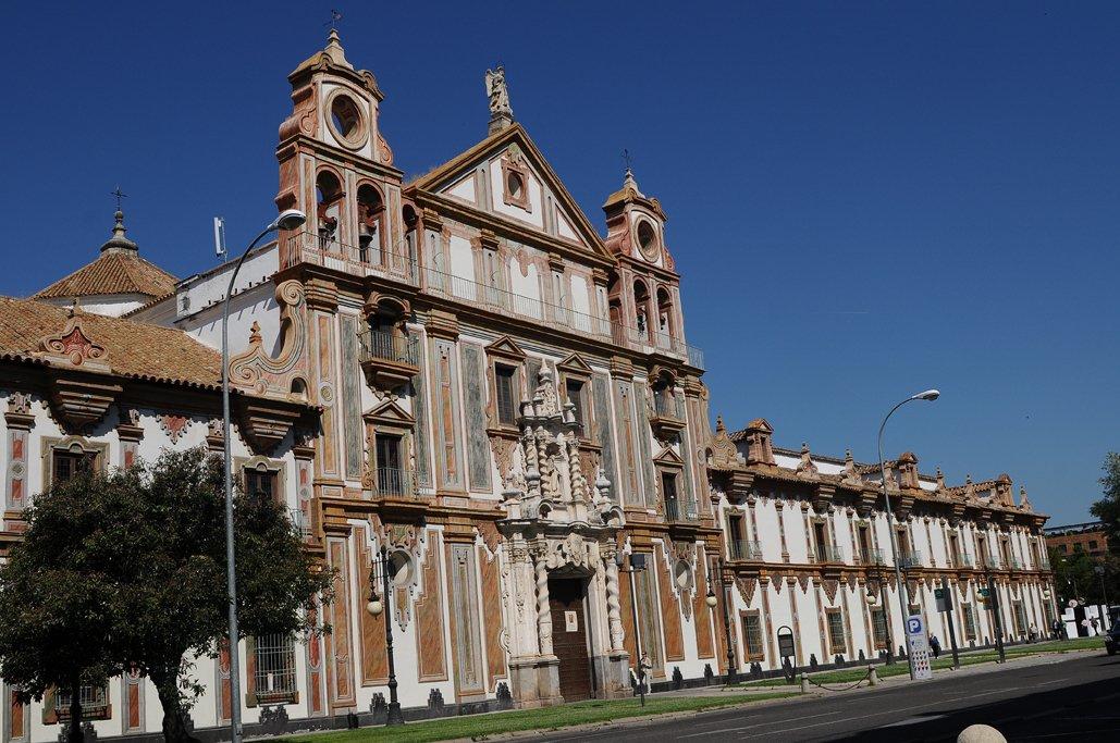 Fachada del Palacio de la Merced
