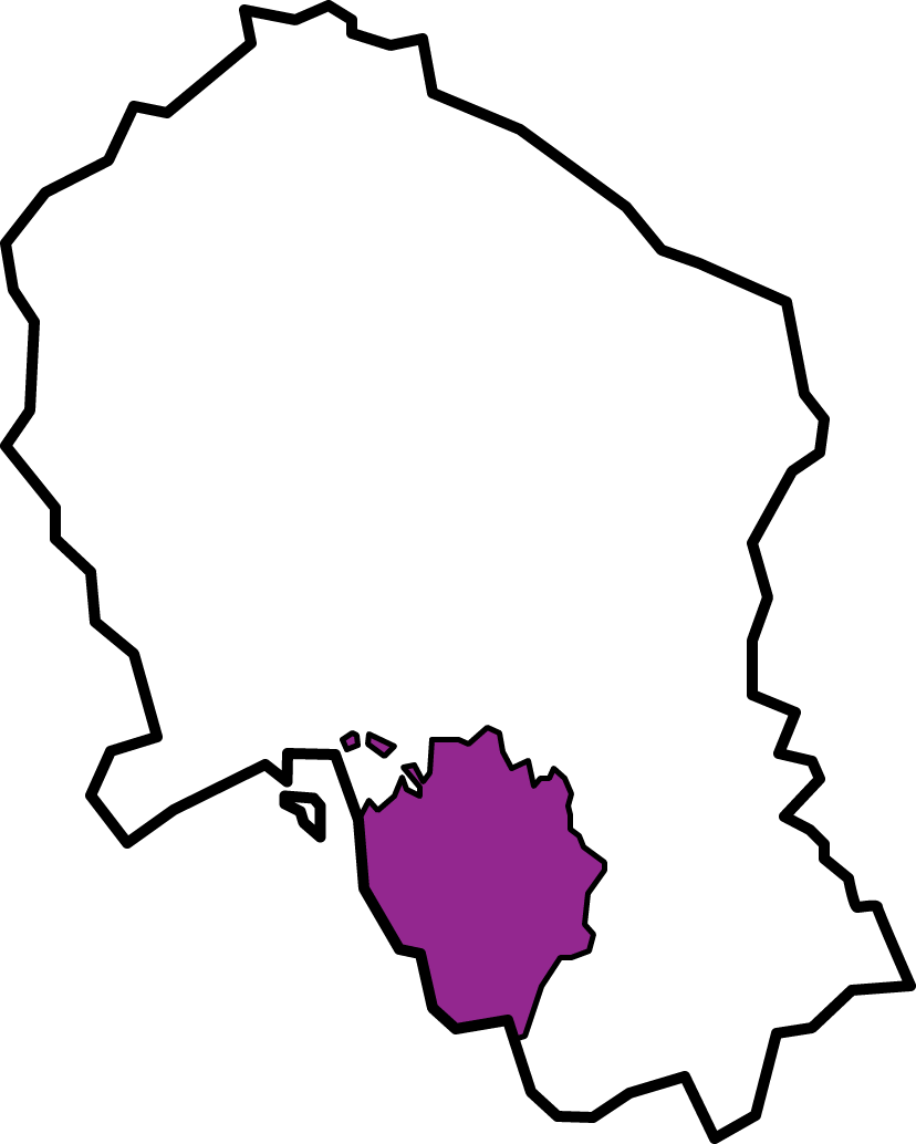 Plano Mancomunidad Campiña Sur cordobesa