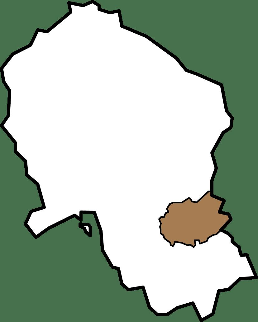 Plano Mancomunidad Guadajoz y Campiña Este