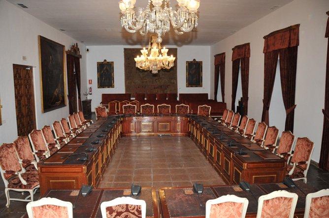 Salón de Plenos de la Diputación de Córdoba