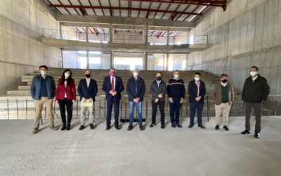 Concluye la primera fase de la Sala Arena de Fernán Núñez, infraestructura que tendrá un importante componente cultural