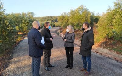 La Diputación realiza trabajos de mejora en la CO-5102   por un total de 100.000 euros