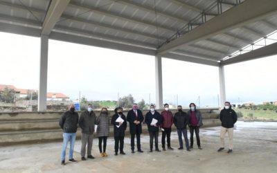 La Delegación de Cohesión Territorial de la Diputación concluye las obras de la primera fase del edificio de usos múltiples de El Guijo