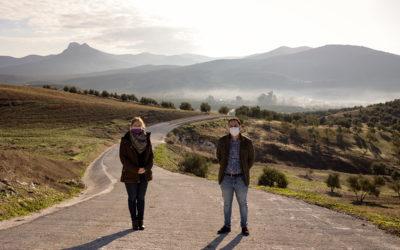 La colaboración entre la Diputación y el Ayuntamiento de Encinas Reales permite la mejora del camino 'De Zurreón'