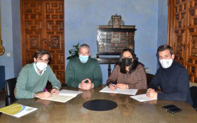 Iprodeco y la Asociación de Empresas de La Carlota trabajan en un proyecto para la digitalización del sector empresarial