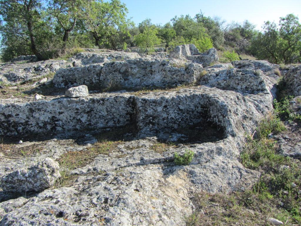 FOTO Yacimiento del Cerro de Las Cabezas. Ruta de los Barrancos en fuente Tójar