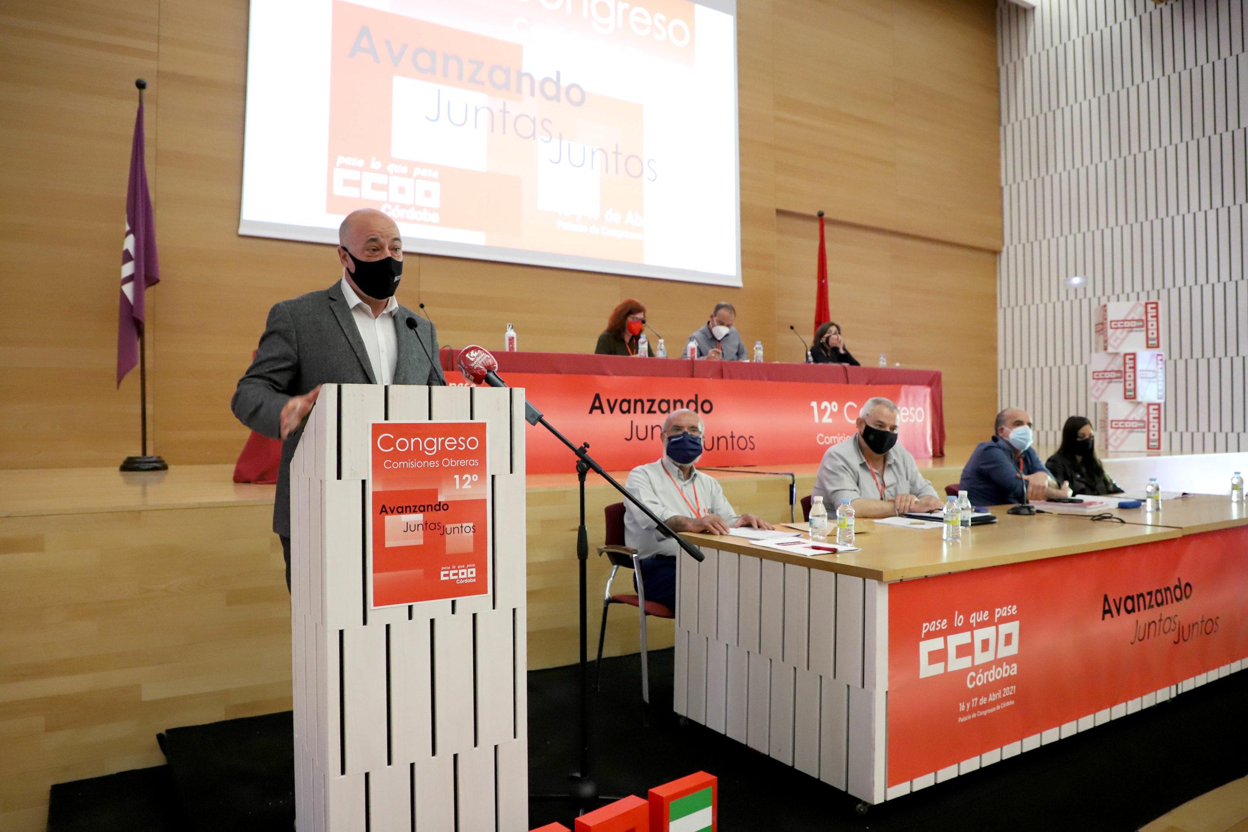 Ruiz pone en valor el trabajo de las organizaciones sindicales como garantes de libertades y derechos en el ámbito laboral