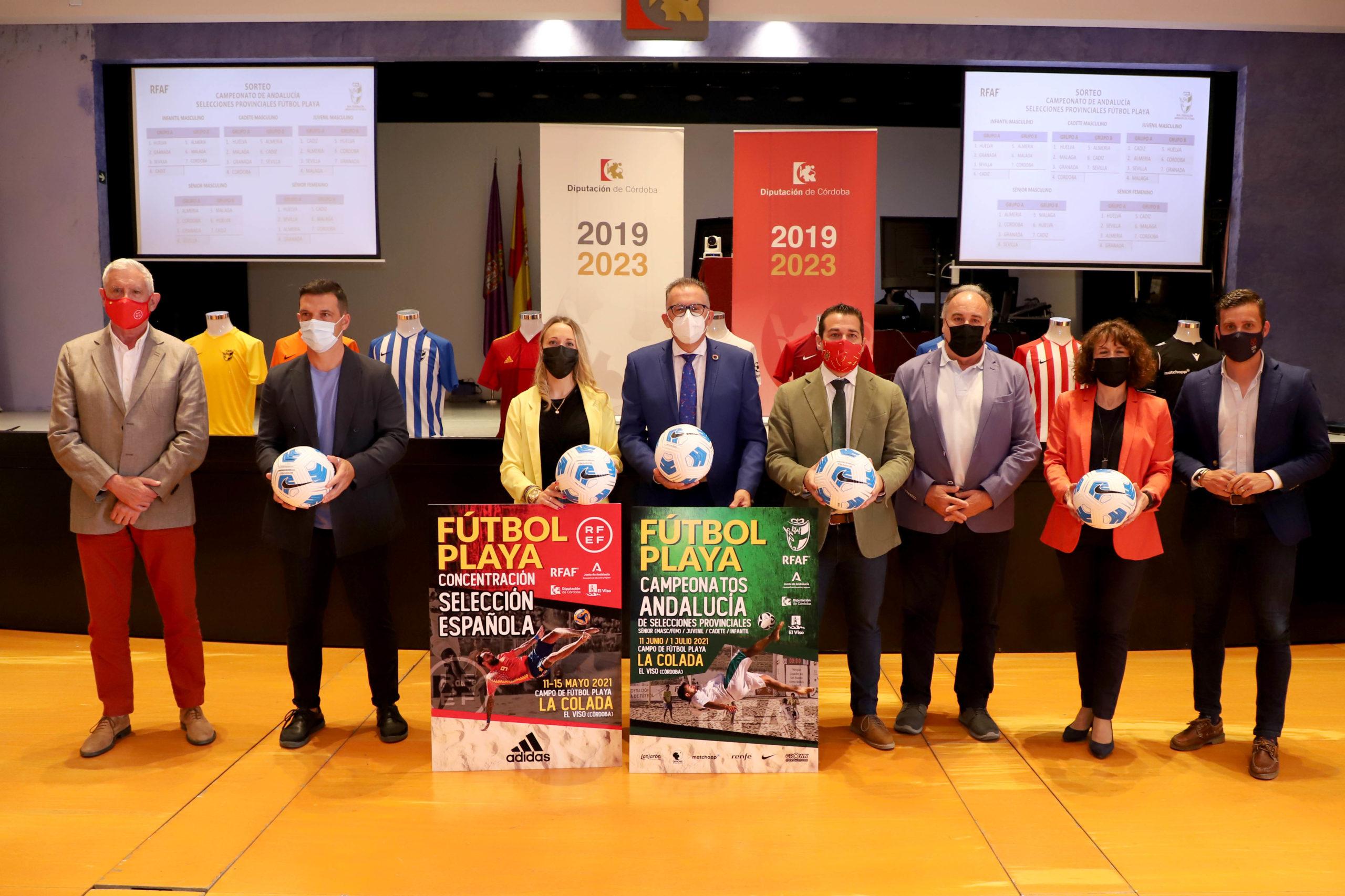 La playa de La Colada acogerá, del 21 al 30 de junio, el Campeonato de Andalucía de Fútbol Playa