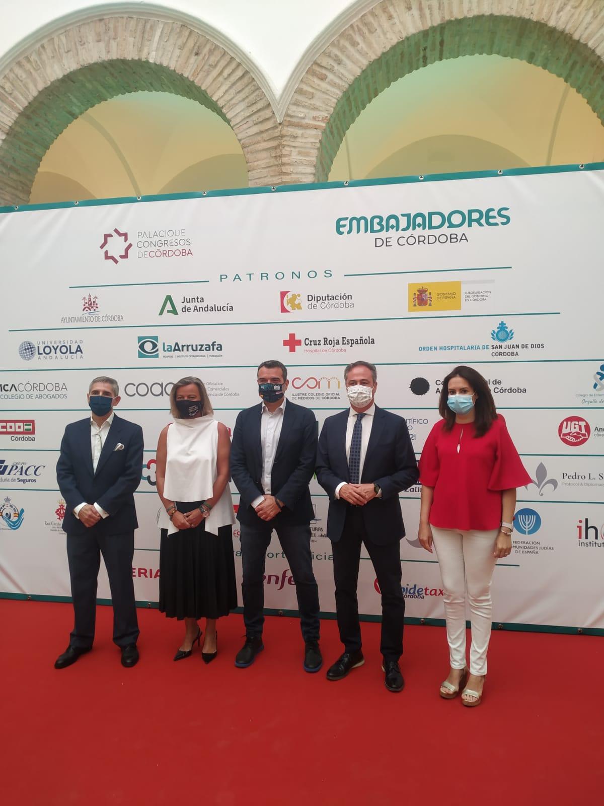 El Patronato de Turismo participa en las III Jornadas Embajadores de Córdoba, dedicadas al análisis del potencial de la provincia como destino MICE