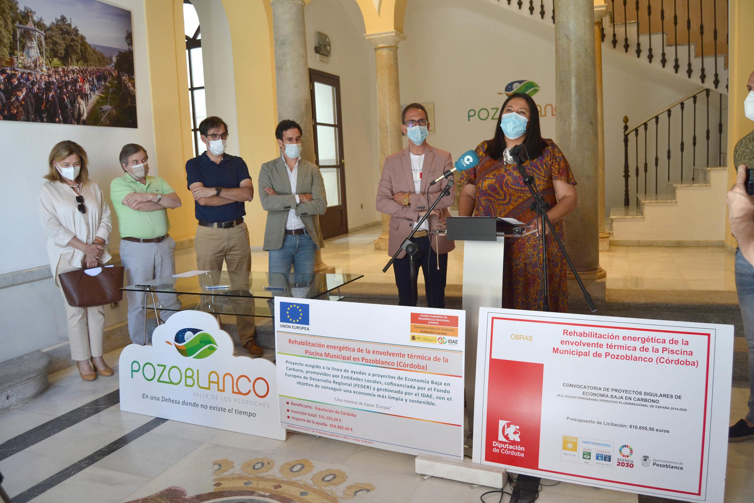 Arranca en Pozoblanco la obra Feder para instalar una cubierta de policarbonato en la piscina con una inversión de 806.982 euros