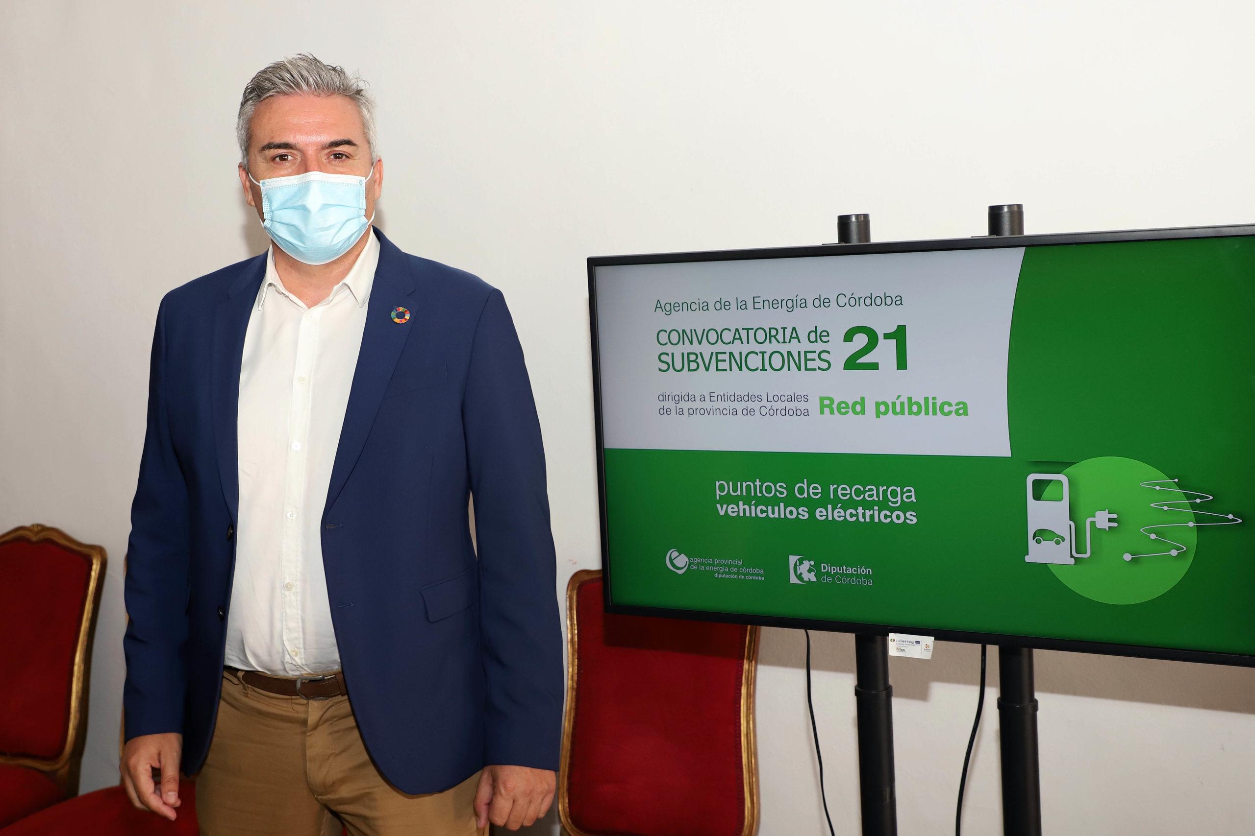 La Diputación destinará 500.000 euros a la puesta en marcha de una Red Pública de Puntos de Recarga de Vehículos Eléctricos en la provincia