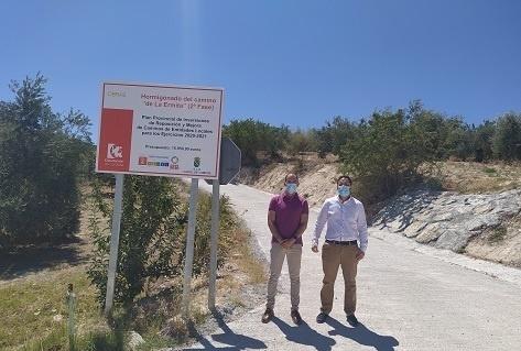 La Diputación invierte 16.000 euros en la mejora de caminos de la ELA de Castil de Campos