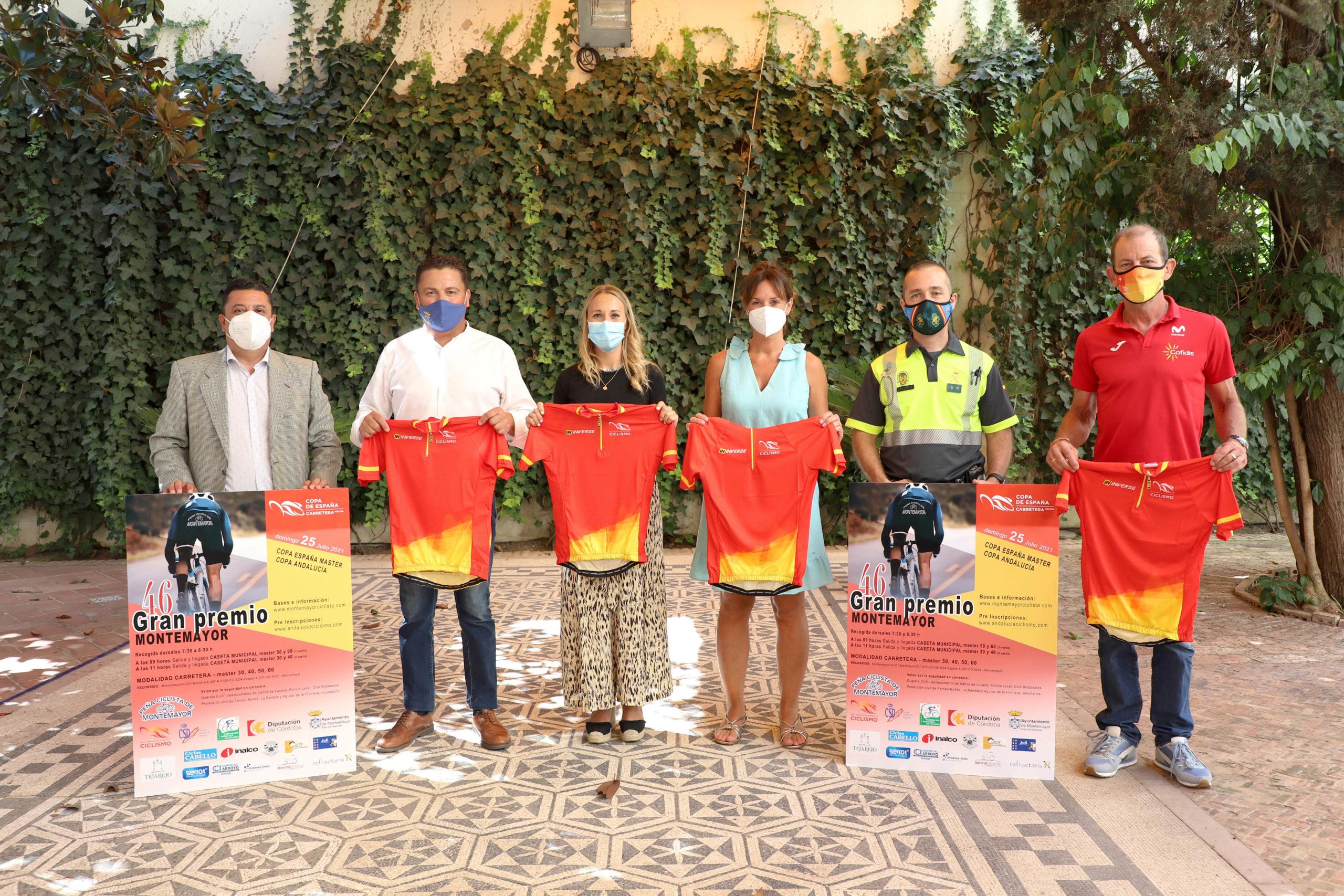 Montemayor acoge la penúltima prueba de la Copa de España Máster de Ciclismo en Carretera 2021