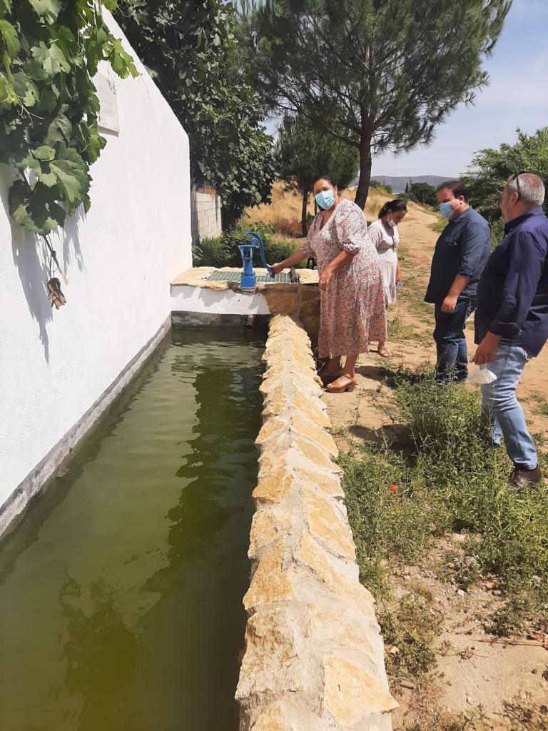 Villanueva del Rey recupera sus pozos y abrevaderos gracias a una ayuda de la Diputación de Córdoba