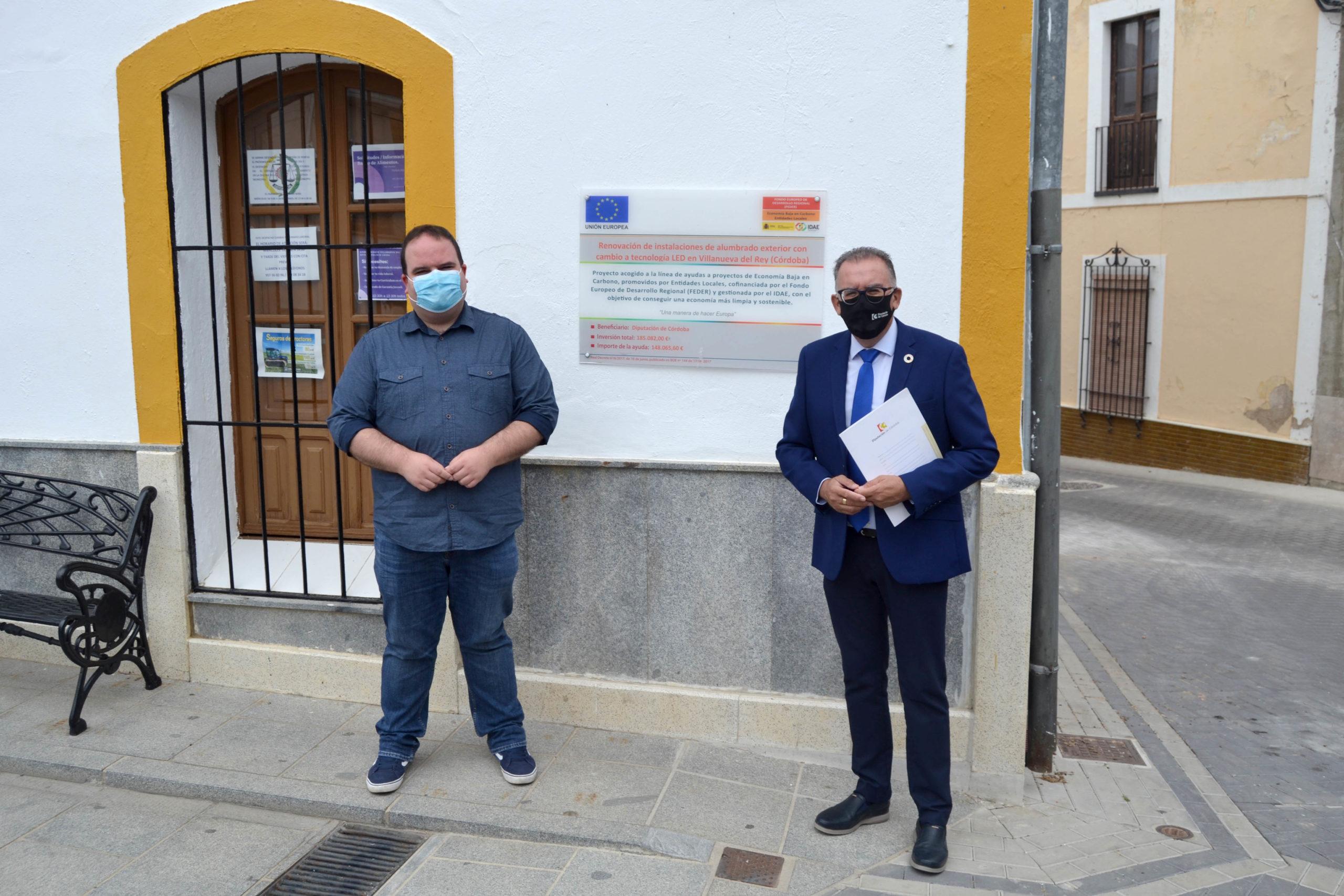 Villanueva del Rey reduce su huella de carbono en 52 toneladas de CO2 con la instalación de 494 luminarias led