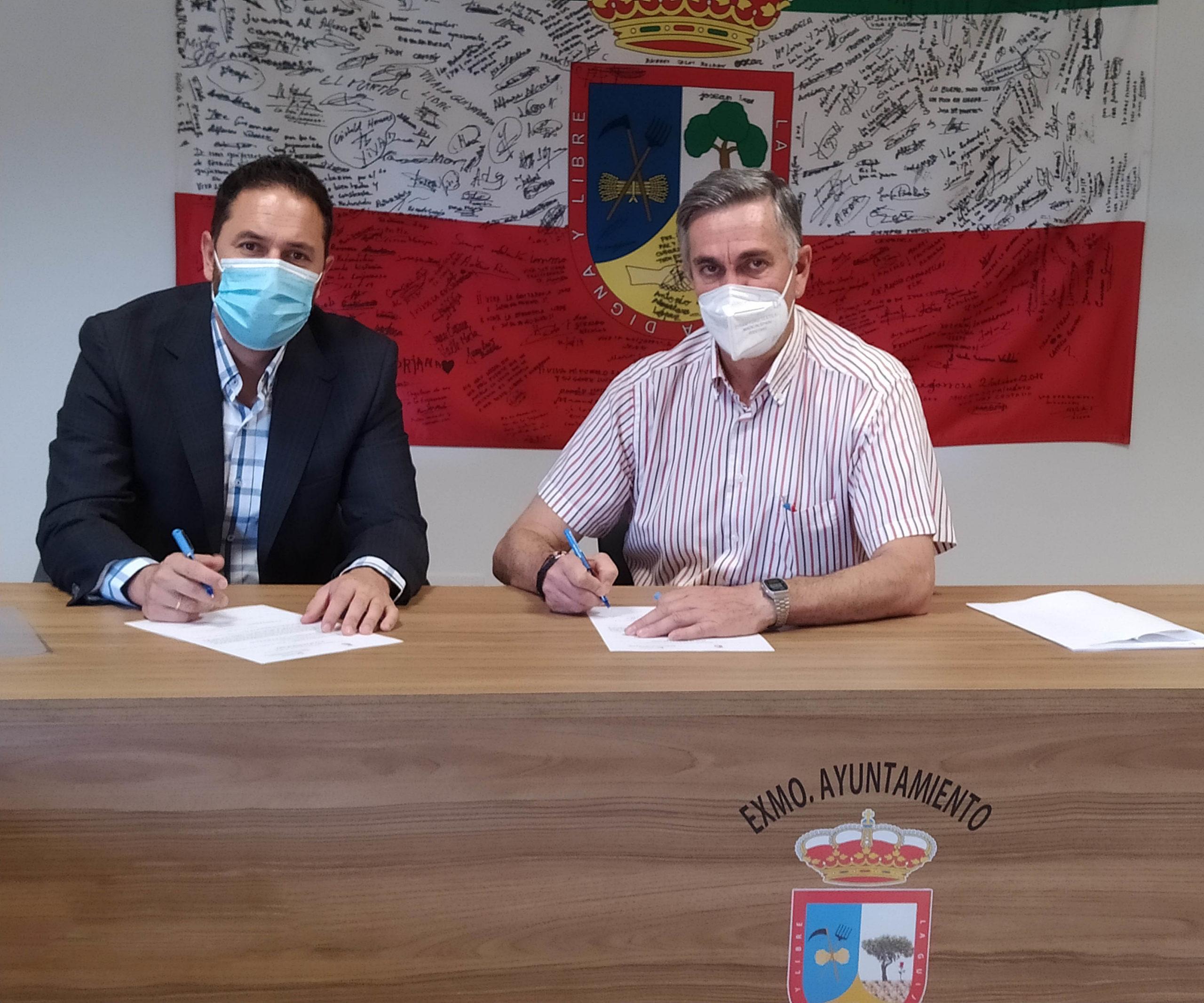La Delegación de Infraestructuras de la Diputación actúa en los caminos 'De la Laguna' y 'De la Victoria' en La Guijarrosa