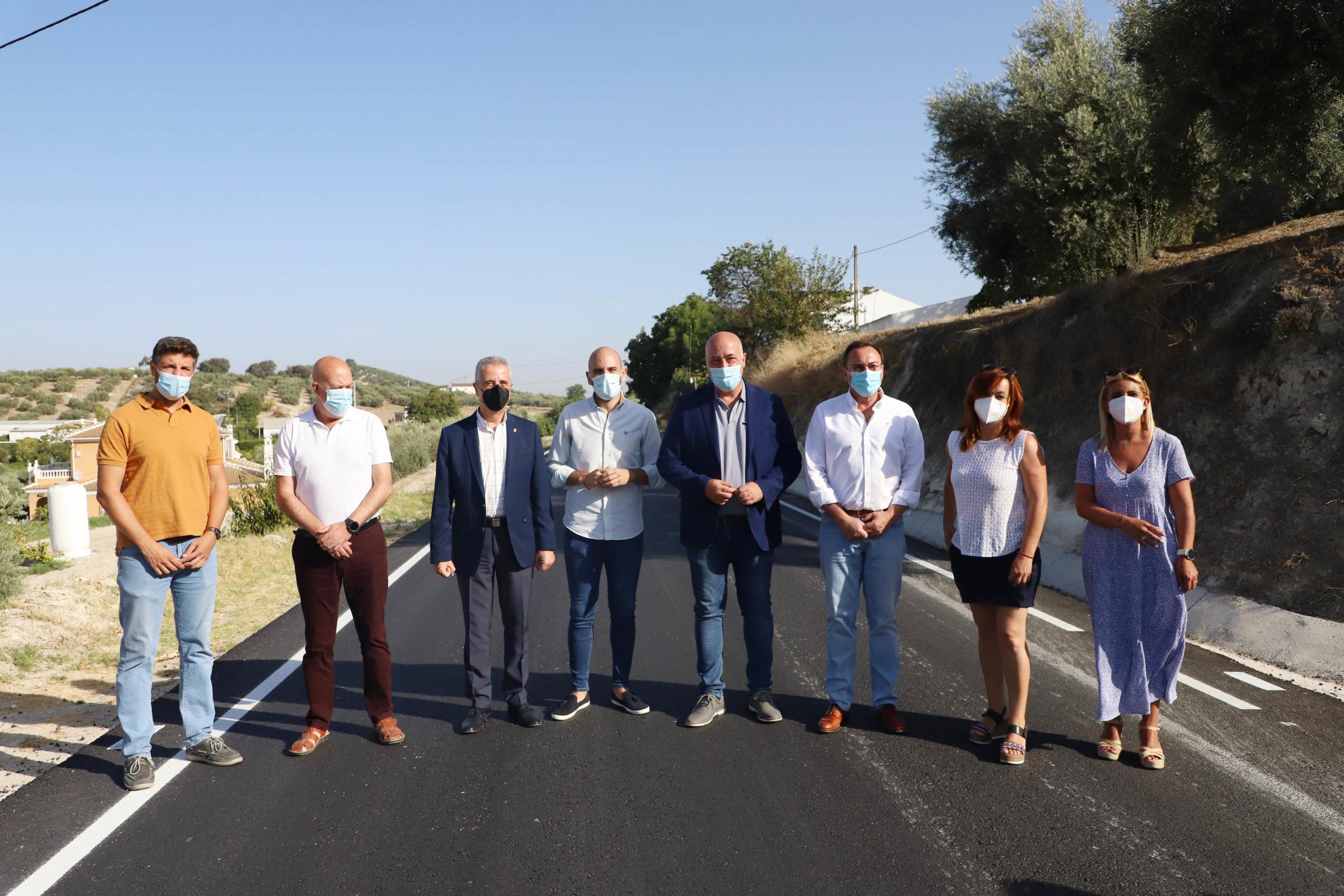 Ruiz señala la importancia de mantener la red provincial de carreteras en la lucha contra el despoblamiento