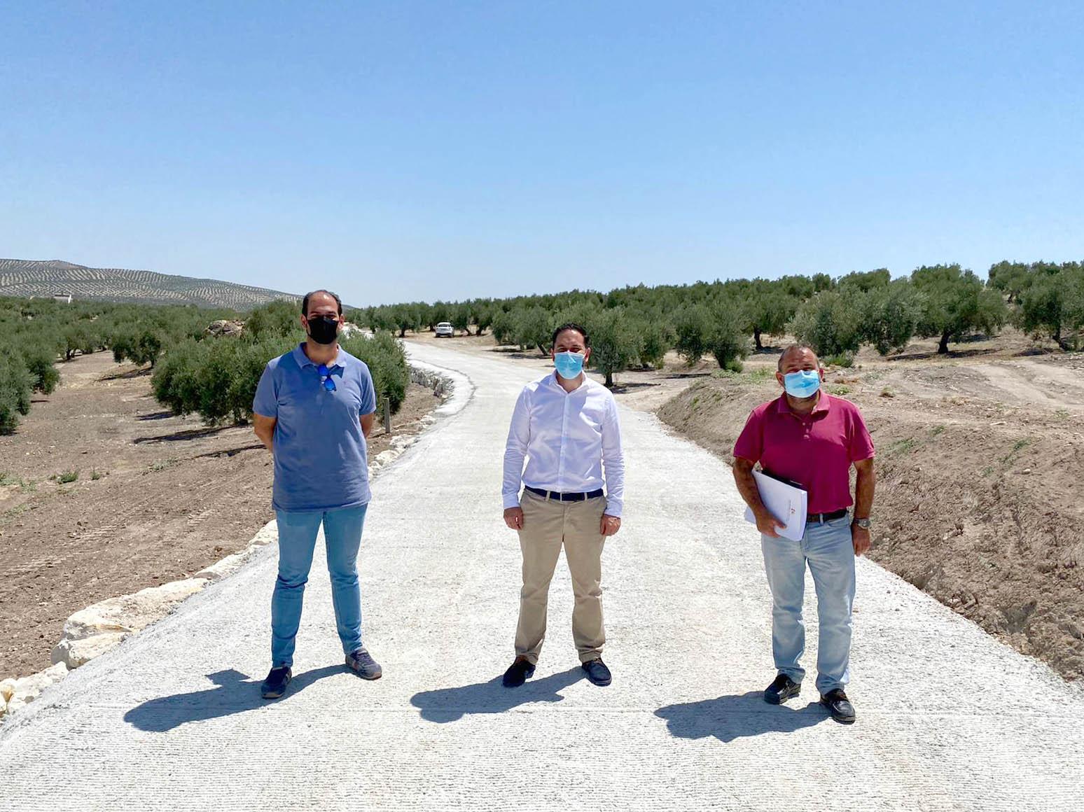 La Delegación de Infraestructuras Rurales de la Diputación invierte más de 150.000 euros en el municipio de Valenzuela
