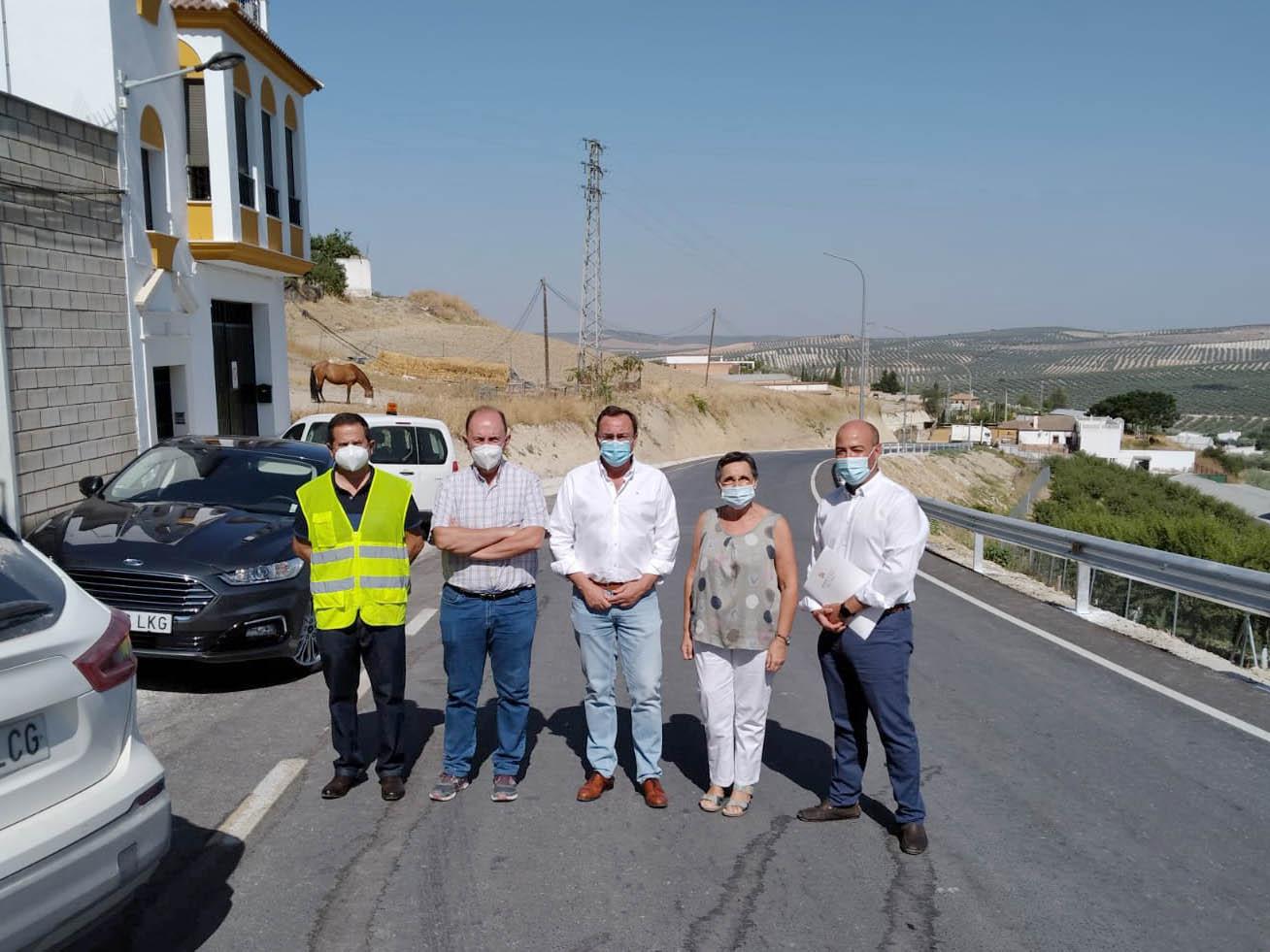 La Delegación de Carreteras de la Diputación de Córdoba dedica un total de 300.000 euros a la mejora de la CO-5211
