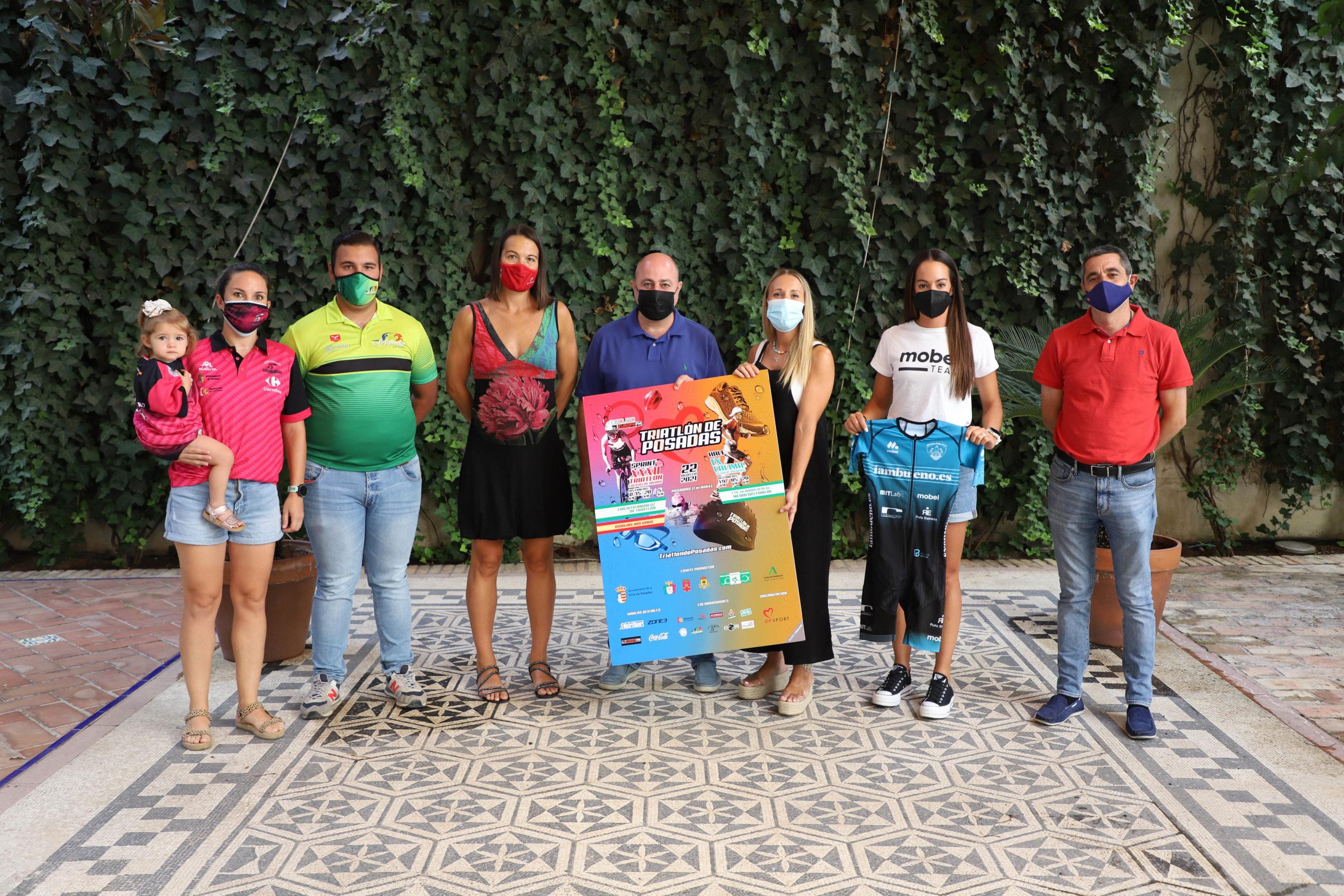 Los mejores triatletas del panorama nacional se darán cita en el Calima Desafío Posadas y el Triatlón Califas de Hierro