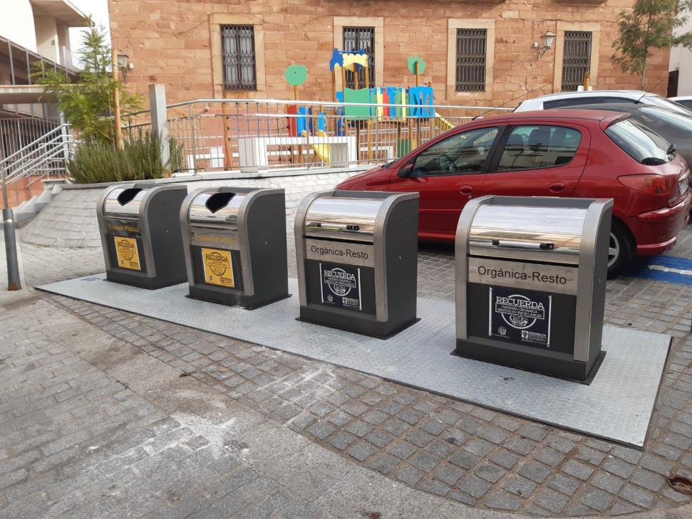 Epremasa invierte 111.586 euros en el acondicionamiento de contenedores soterrados en el municipio de Montoro