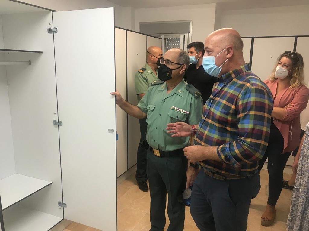 La Diputación de Córdoba destina 15.000 euros a la mejora del cuartel de la Guardia Civil en el municipio de Rute