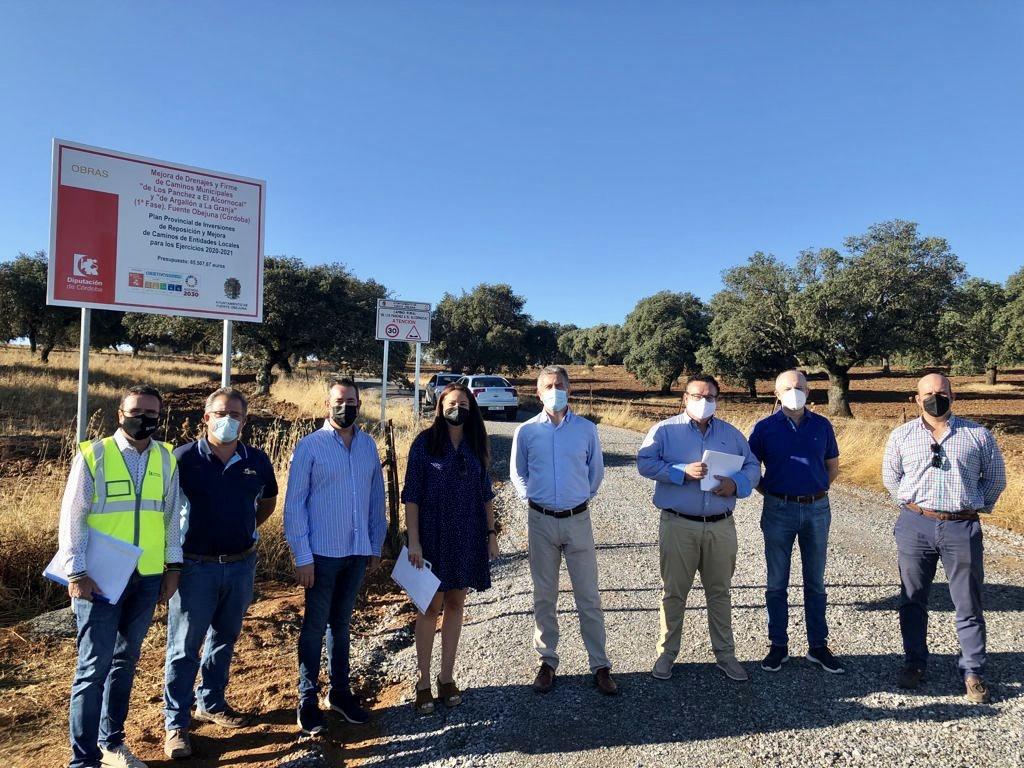 La Diputación de Córdoba destina 65.500 euros a la mejora de caminos en el término de Fuente Obejuna