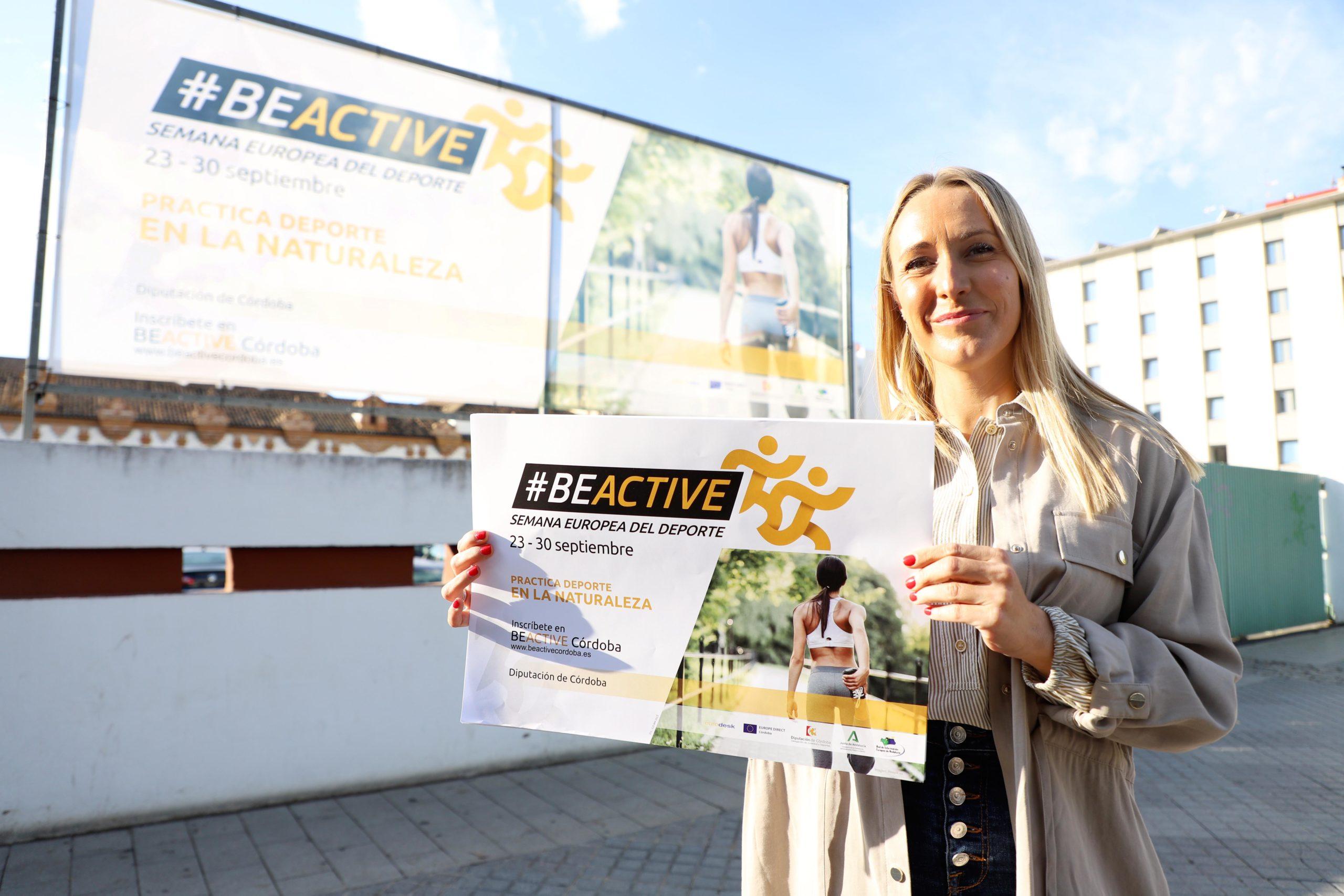 La Diputación se suma al reto de difundir la práctica deportiva con la campaña #BeActiveCórdoba