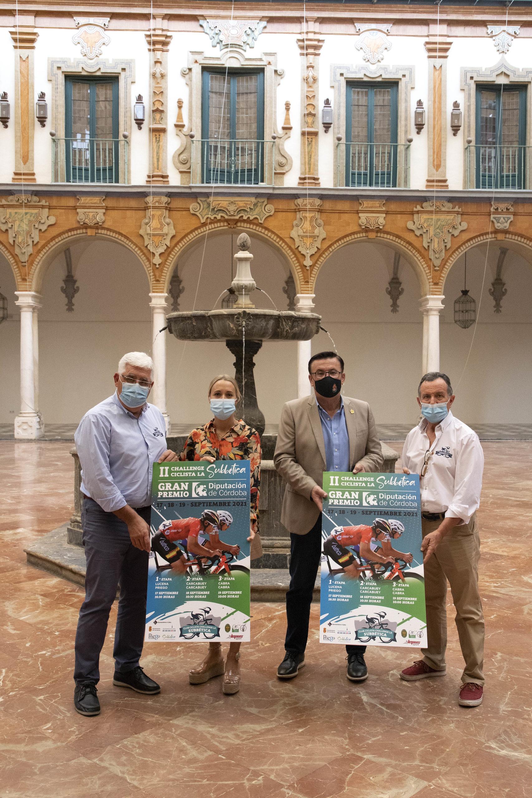 Más de 130 ciclistas de todo el territorio nacional participarán en la II Challenge Ciclista de la Subbética