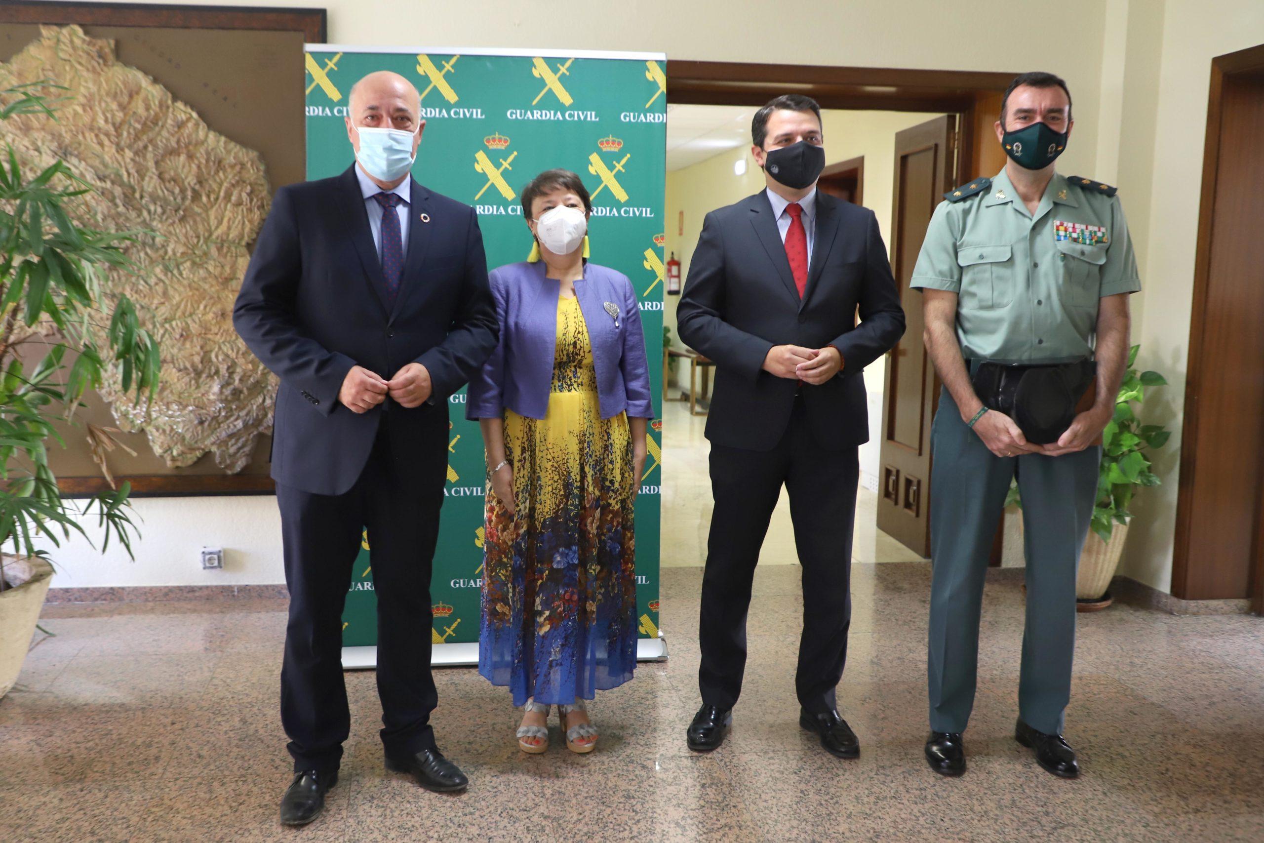 La Diputación de Córdoba se suma a los actos conmemorativos del Día de la Patrona de la Guardia Civil