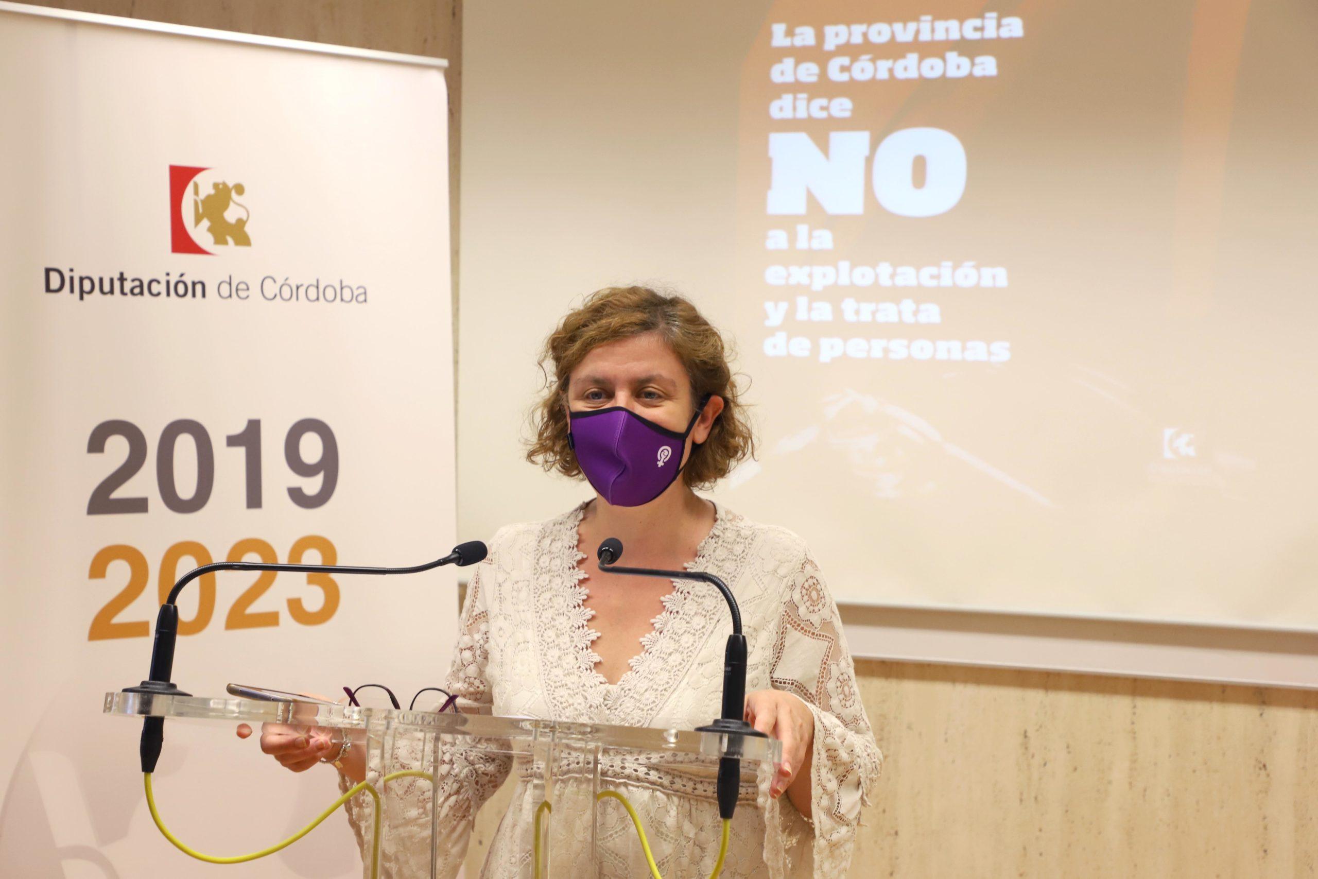 La Diputación de Córdoba abordará el problema de la explotación y la trata de personas en un seminario de carácter internacional