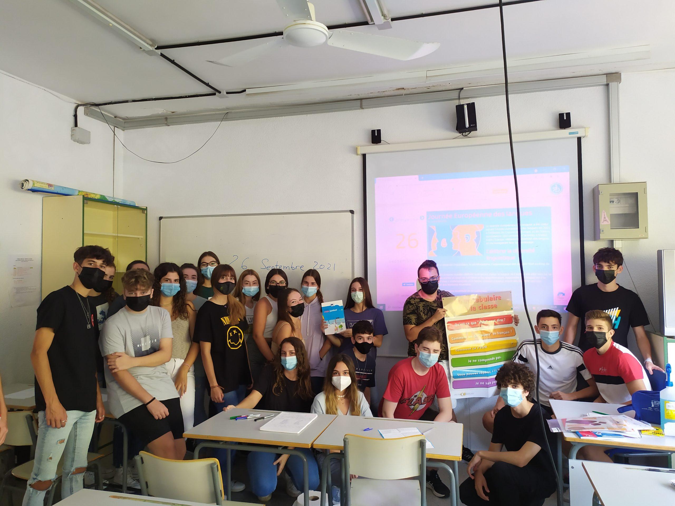 La oficina Europe Direct celebra el 'Día Europeo de las Lenguas' con actividades en colegios e institutos de Córdoba capital y provincia