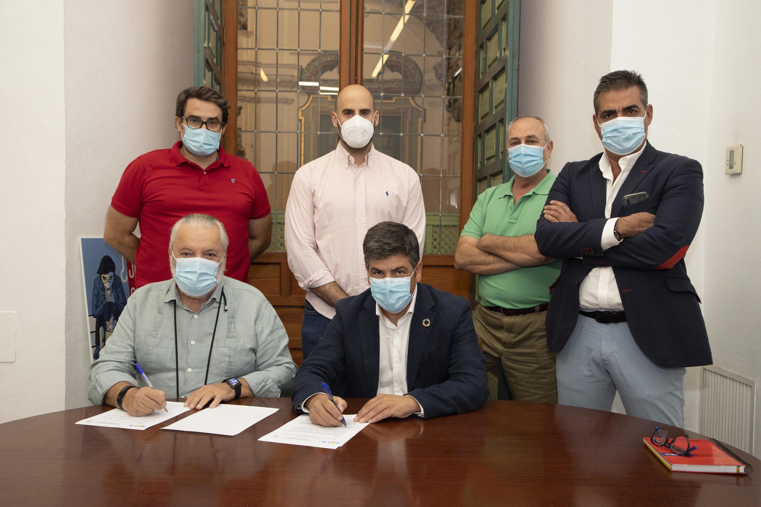 El Consorcio Provincial de Incendios posibilitará que personas con síndrome de down realicen prácticas relacionadas con tareas administrativas en sus dependencias